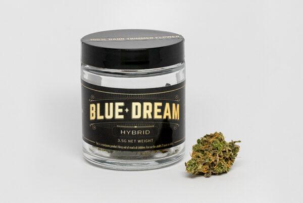 Jar of Blue Dream Hybrid Image