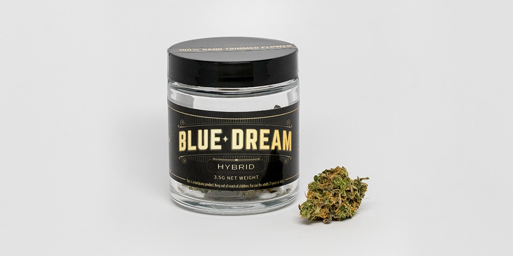 Jar of Blue Dream Hybrid Image