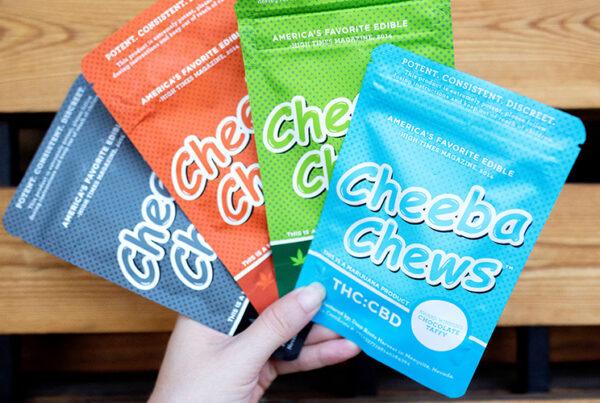 Assorted Bags of Cheeba Chews Edibles