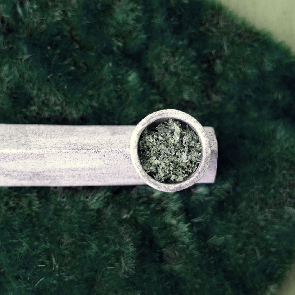 Close up image of Marijuana in a pipe