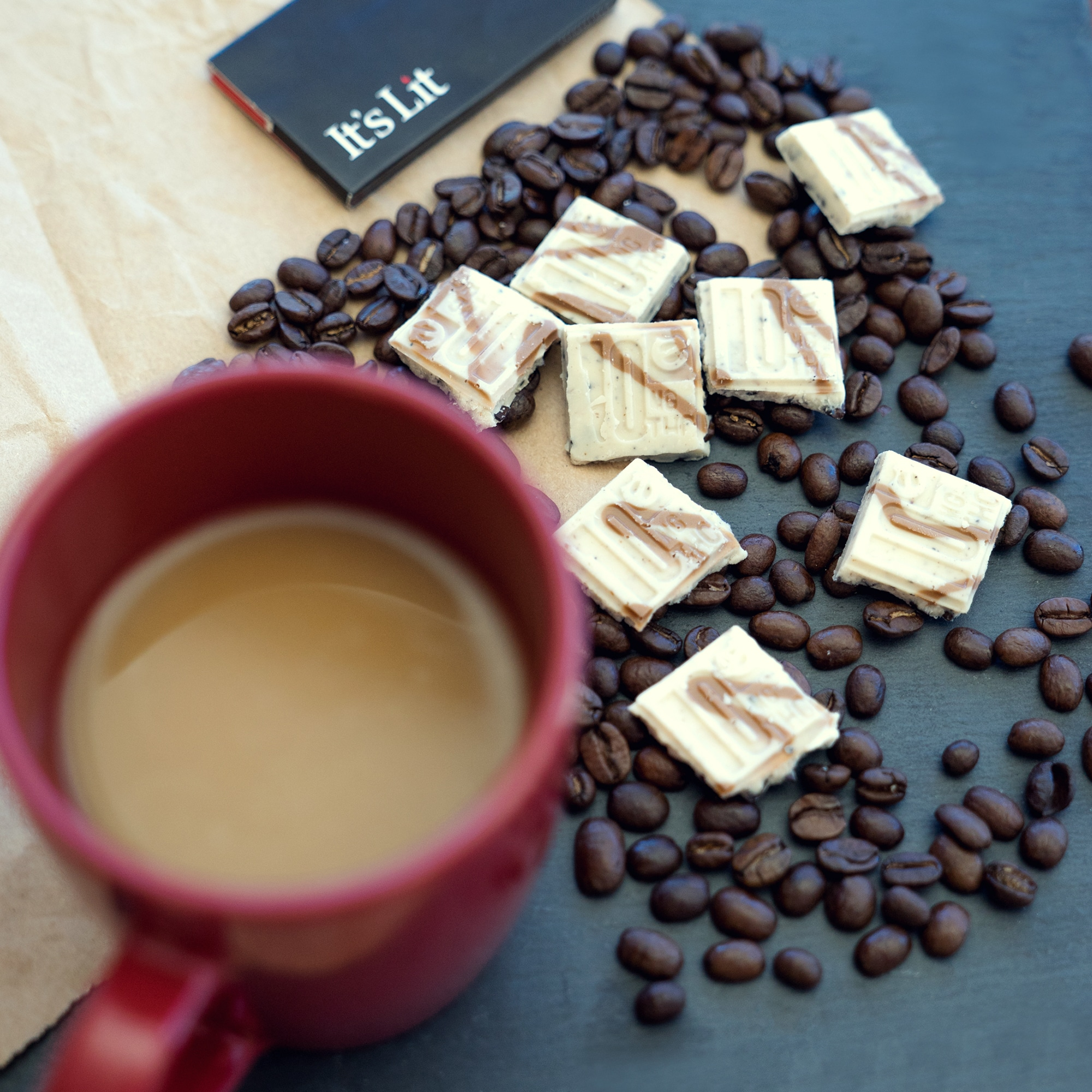 Image of Marijuana Edibles and coffee beans