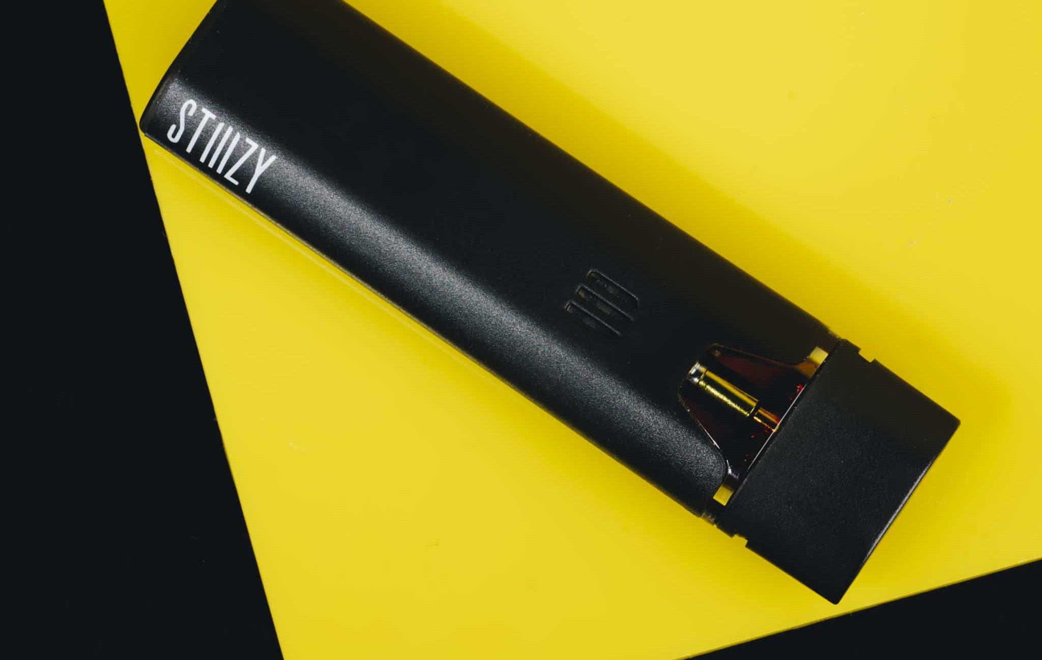 black vape battery